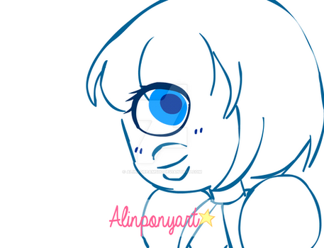 ShortHaired_Sapphire by AlinaDreams00