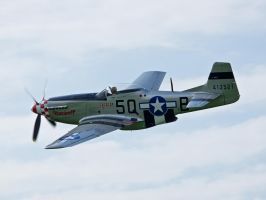 P51 Mustang Sywell 2012 by davepphotographer