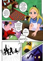 Trouble In Wonderland re: pg1 by tenchufreak