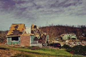 Tornado Damage by saniakhanphotography