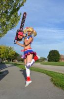 Lollipop Chainsaw: Jump! by arienettee