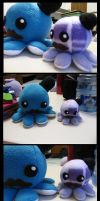Octo Plushes by 20f3