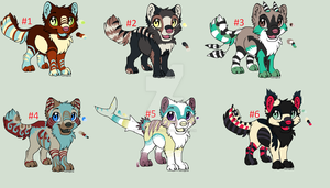 Pup auctions CLOSED by HazeAdopts