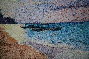 Panglao Sunrise Detail 1 by jfkpaint