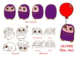 OLIVER The.Owl by lolita-candy-bear