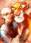 Milt and his Tiger by MistyTang