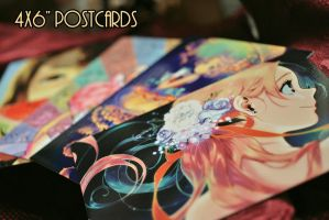 4x6 Premium Postcards for Sale! by joodlez
