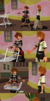 kingdom Bros/Hearts- Go-Kart of Imagination by mizuki12341