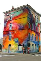 Colorful Building ! by hisptermon