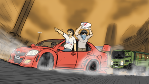 Race war - Thai coup drift by VachalenXEON