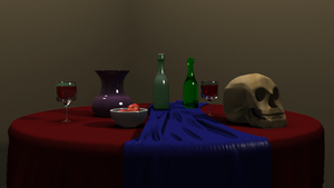 Still Life by McKravendrawings