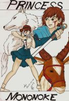 princess Mononoke by Linkatrix
