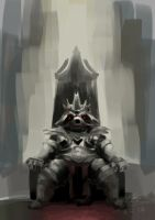 Rise of the undead raccoon king by LENGARTISTRY