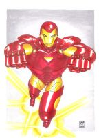 IRON MAN COLORED by daikkenaurora