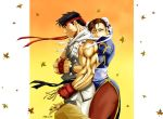 "Ryu and Chun Li, ""Don't Go..."" by the-pooper"