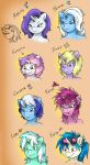 Some Unicorn Ladies by MustLoveFrogs