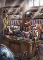 Dr. Sittaius' Office - Commission by StriderDen
