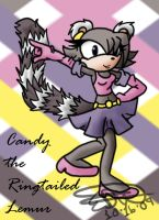 Candy the Ringtailed Lemur by Sushibeth