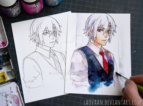 Allen Walker - D.Gray-man by Laovaan