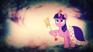 Wallpaper Queen Twilight Sparkle by Barrfind