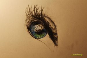 eye iris in color - part II by LucaHennig