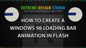 Create a Windows 98 Loading Bar Animation in Flash by eds-danny