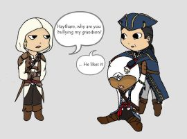 The Kenway Family by Mystiquas
