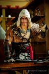 Edward Kenway Cosplay - FIRE Black Flag by Leon by LeonChiroCosplayArt
