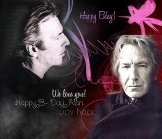 Happy BDay Alan by MarySeverus