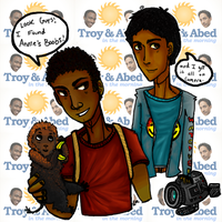 Troy + Abed in the Morning by vagcat