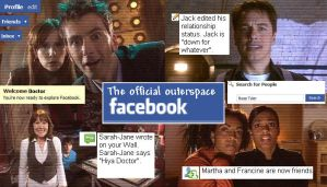 Outerspace Facebook by RoseTyler