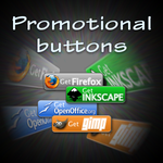 Promotional buttons by unicko