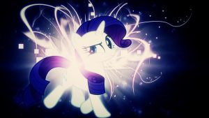 Rarity burst colour corrected by BronyYAY123