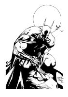 Batman by edbenes inked by gz12wk