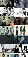 SKETCH DUMP 05 - BLEACH 501- 502- OCs by NanFe