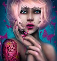 think pink 3 by RomanticFae