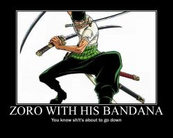 One Piece- Roronoa Zoro by luffyisawesome