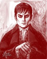 Tim Burton's Dark Shadows Barnabas by Crazyskull