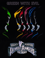 MMPR The Movie (Green With Evil) Fan Poster by RaidenRaider
