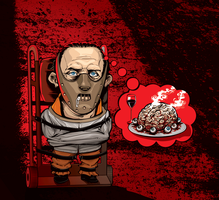 Hannibal Lecter by CrisVector