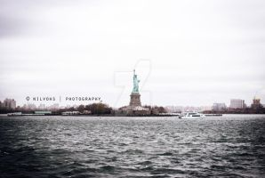 STATUE OF LIBERTY II by faberryspork