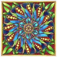 August Mandala 4 Finished by Artwyrd