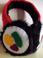 Sushi Earmuffs by Bee-Delicious