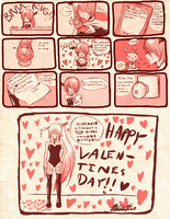 HAPPY -late- VALENTINE'S COMIC by Narutofan098