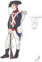 The Continental Soldier - 1776 by CdreJohnPaulJones
