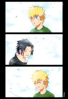 Little Naruto and Sasuke by Ndargen