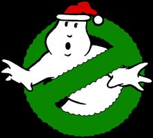 Ghostbusters Christmas Logo 1 by DerGrundel