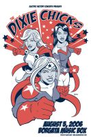 Dixie Chicks poster by JasonGoad