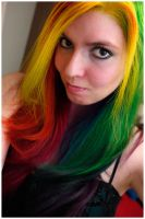 Rainbow Hair v.2 by lizzys-photos