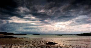 Storm over the Isle of Eigg Part 1 by LordLJCornellPhotos